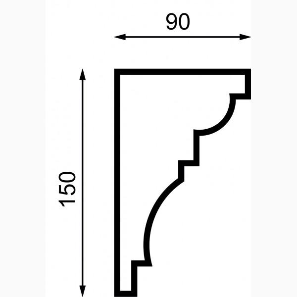 Карнизы AД-K 150-2