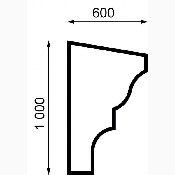 Карнизы AД-K 150-3