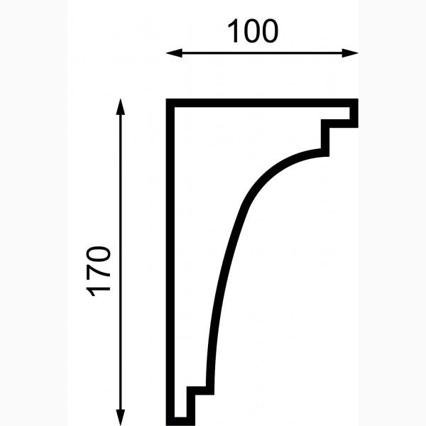 Карнизы AД-K 170-1
