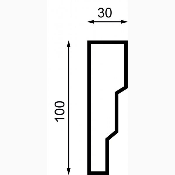 Молдинги AД-M 100-7