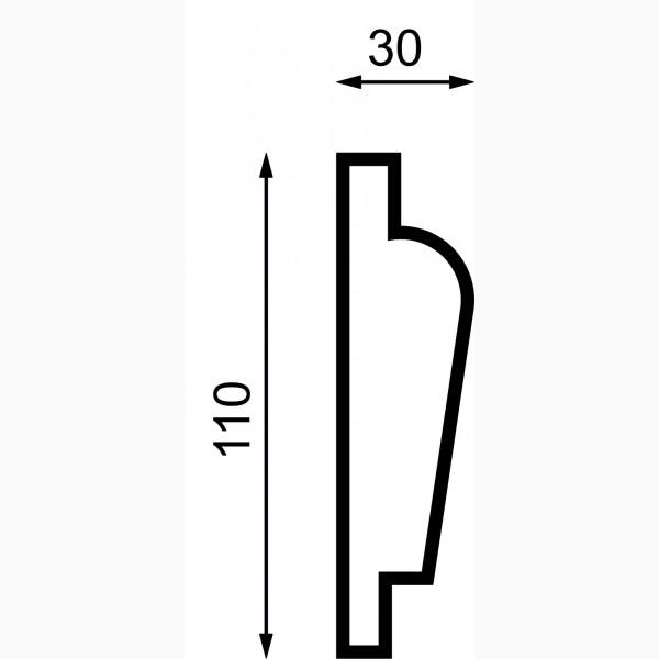 Молдинги AД-M 110-2