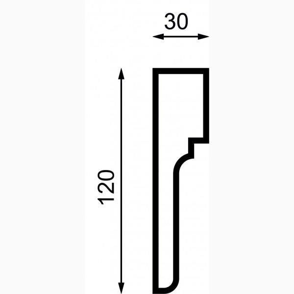 Молдинги AД-M 120-1