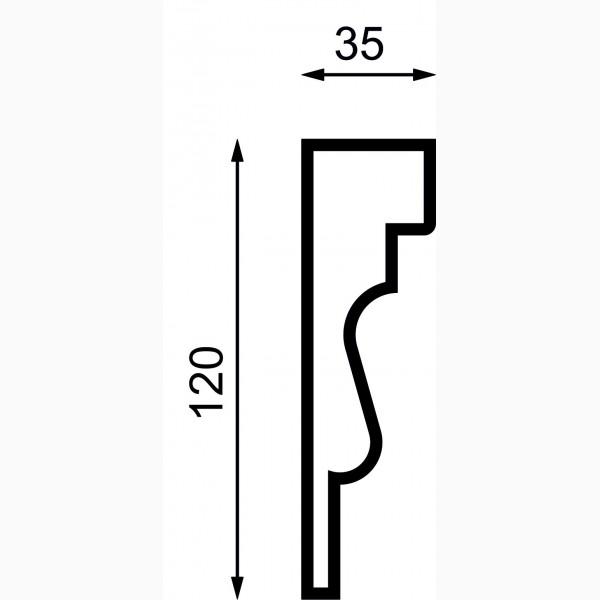 Молдинги AД-M 120-2