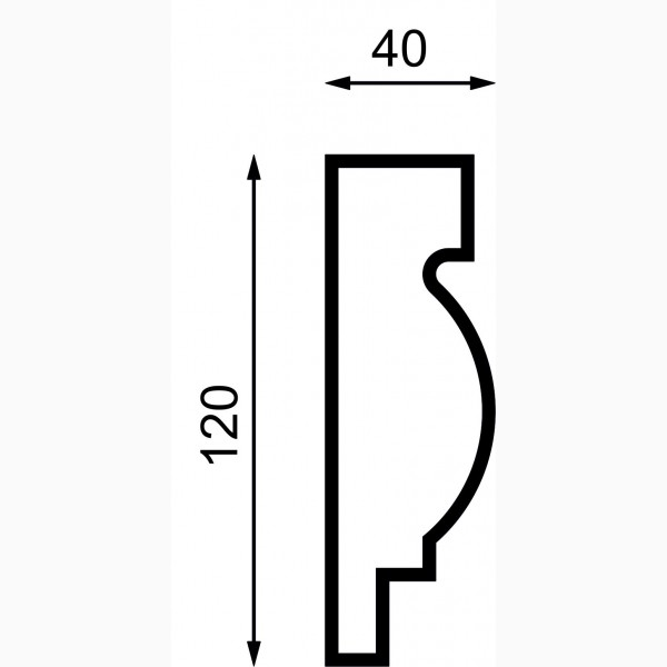Молдинги AД-M 120-4