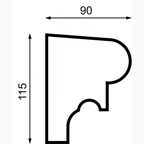 Подоконики AД-П 115-2