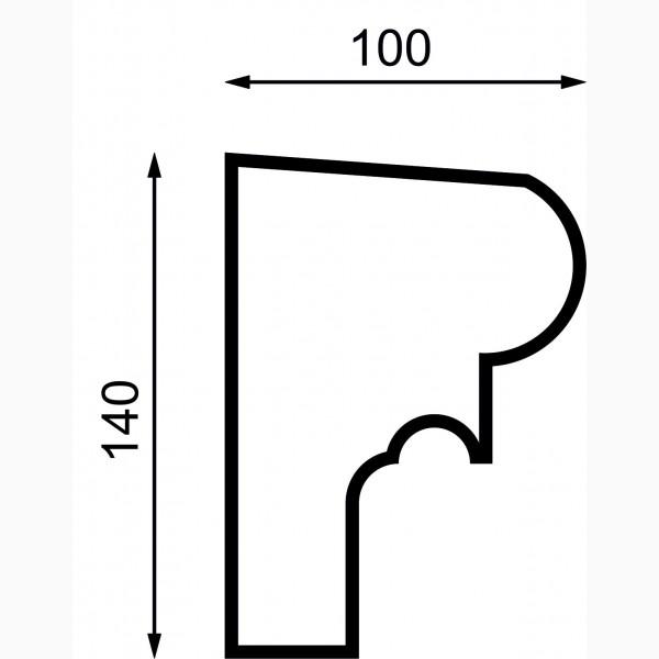 Подоконики AД-П 140-1