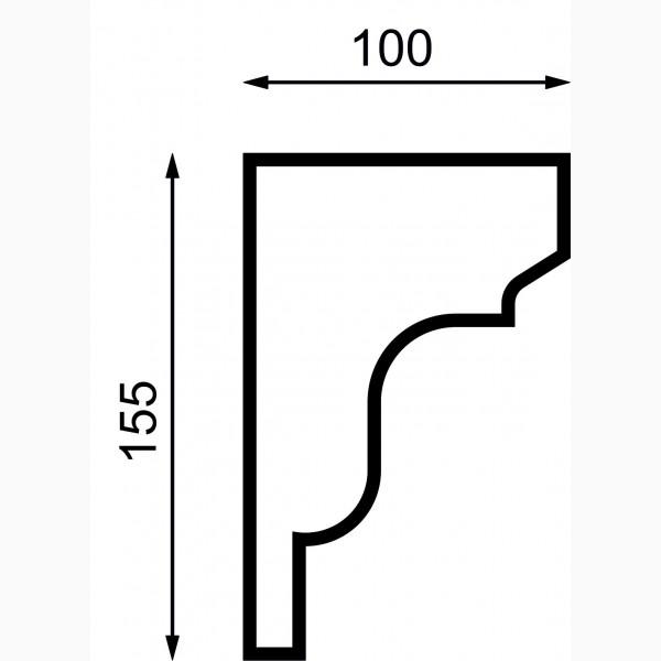 Подоконики AД-П 155-1