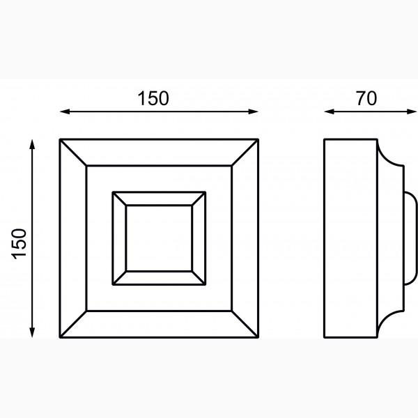 Замковые камни AД-ЗK 150-1