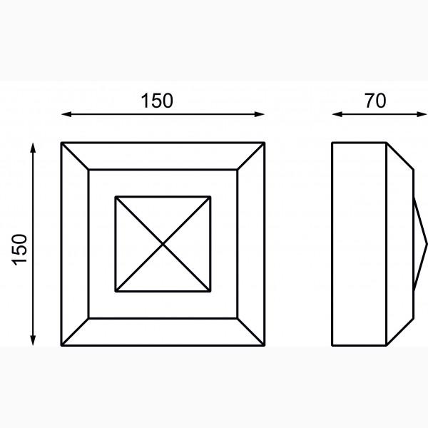 Замковые камни AД-ЗK150-2
