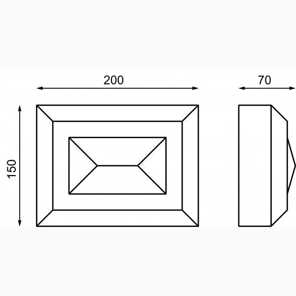 Замковые камни AД-ЗK 150-3
